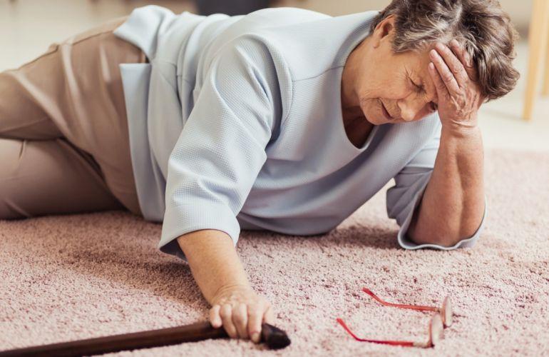 Você sabia que 70% das quedas de idosos ocorrem dentro de casa?